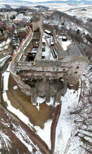 Bolków - kształt zamku