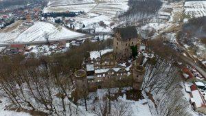 Zamek Świny - od frontu