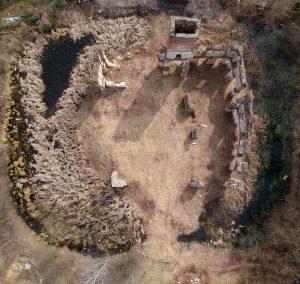 Smolec - plan ruin